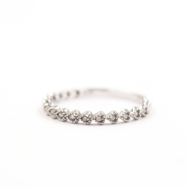 LILY | Young Hearts Diamond Wedding Band