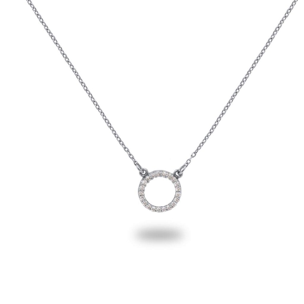 MAGNOLIA Diamond Necklace 14K