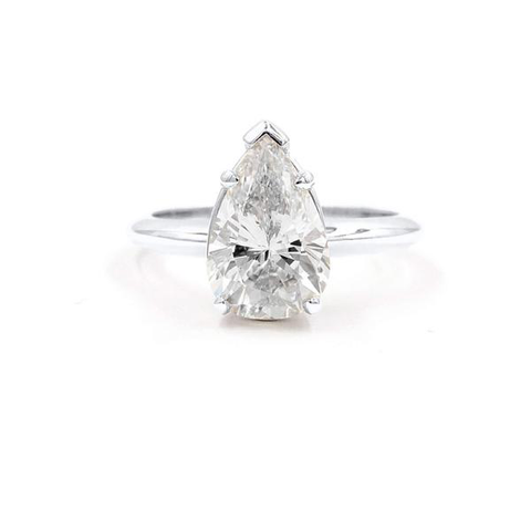 MARISSA | Pear Shape Solitaire Engagement Ring