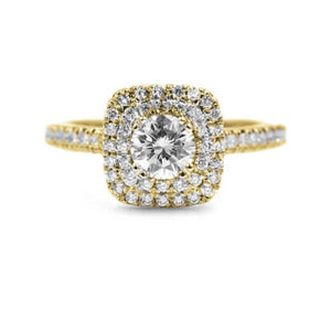 Mindy Halo Engagement Ring