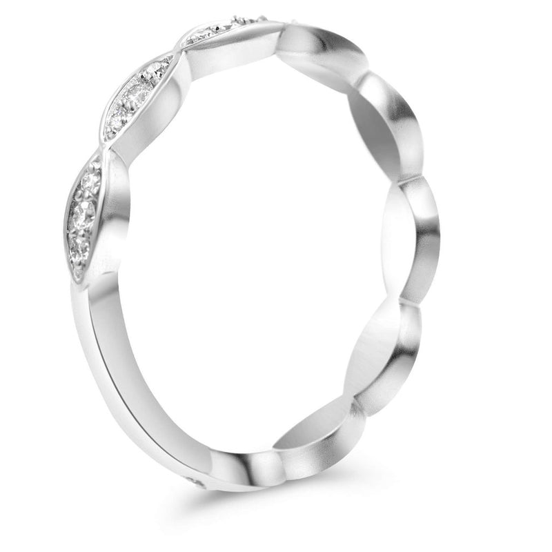 PASSIFLORA Infinity Stackable Diamond Ring