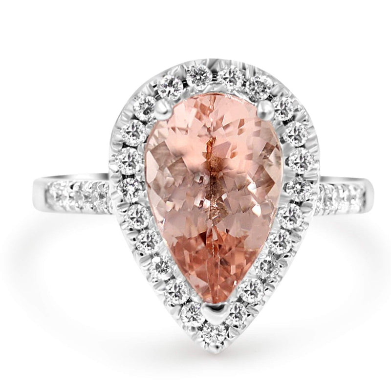 BELLROSE Pear Shape Engagement Ring