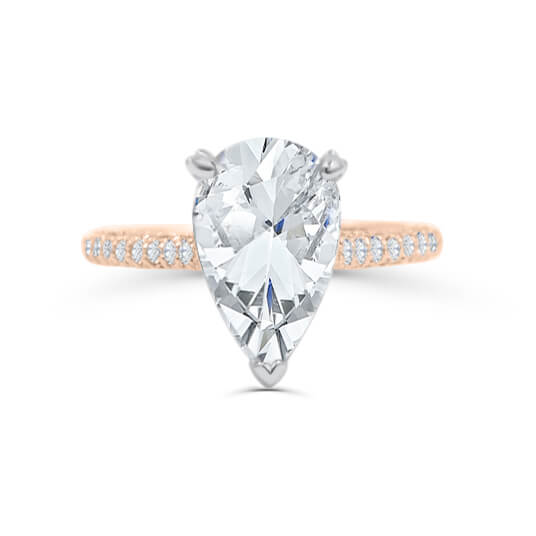 Sahar Pear Shape Engagement ring