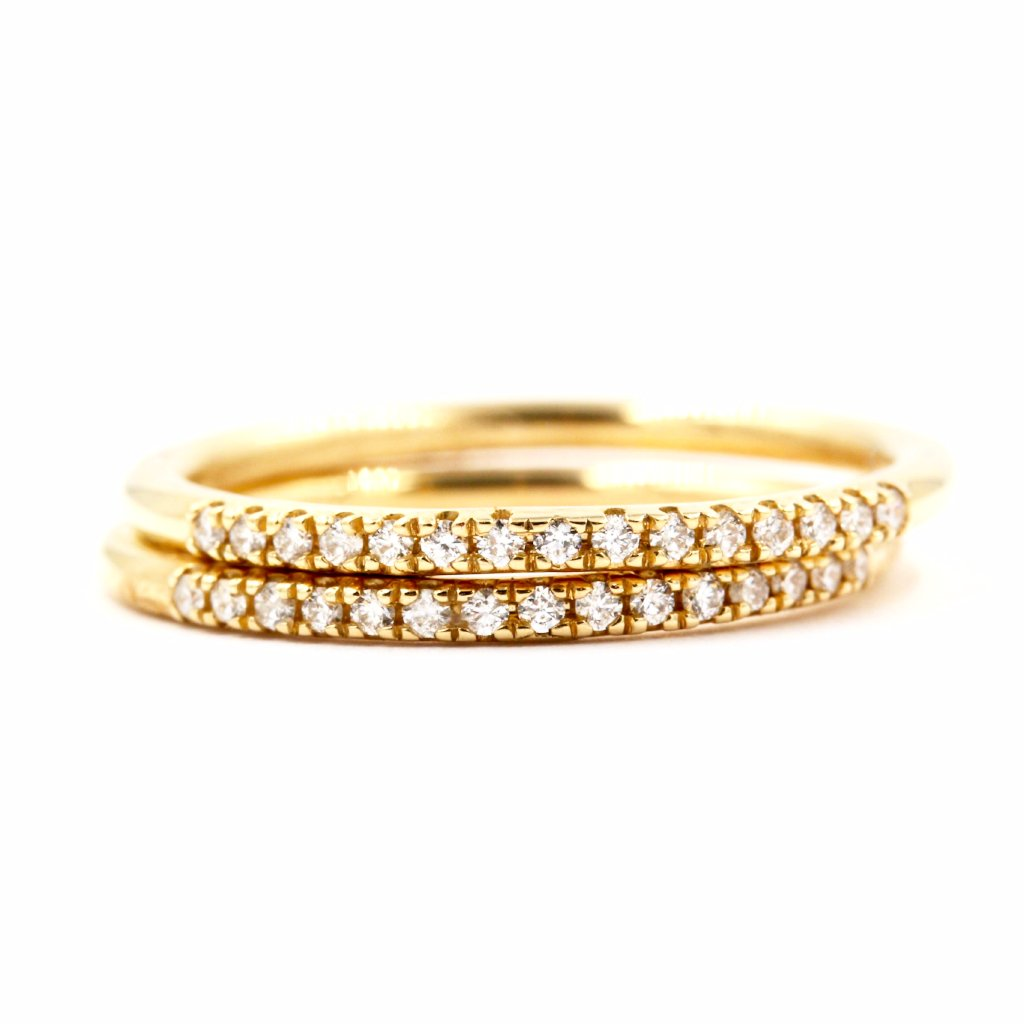 SENNA | Diamond Wedding Band