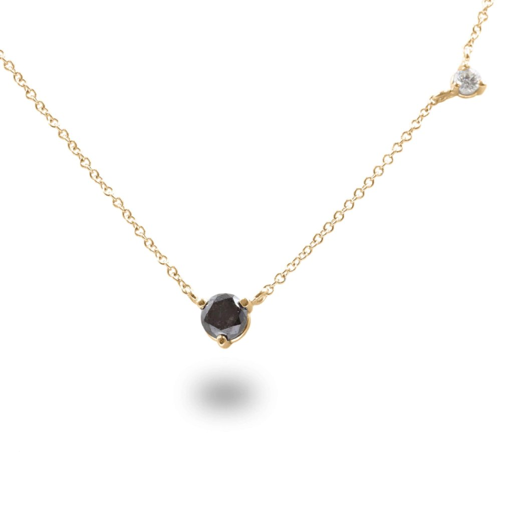 STARS & SKY Diamond Necklace In 14K Gold