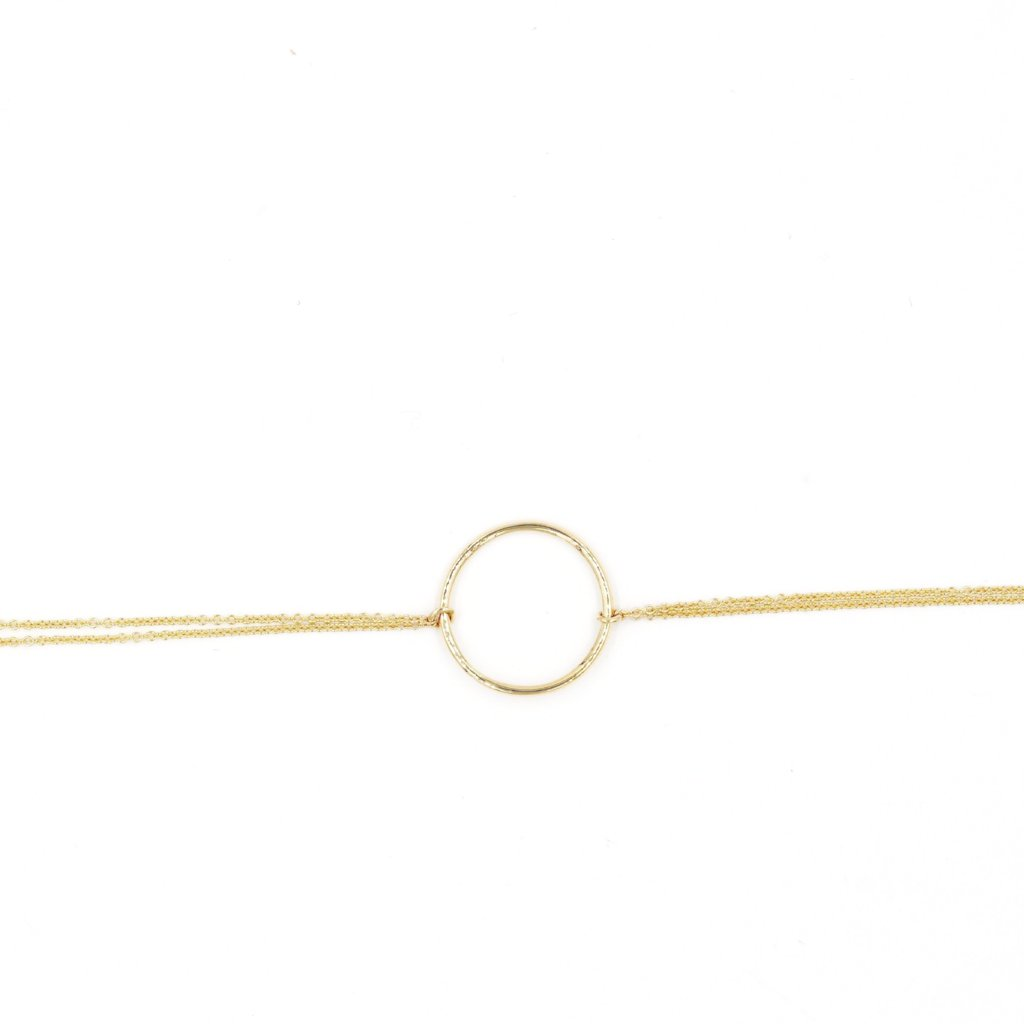 SWEET PEA Bracelet - 14K Yellow Gold