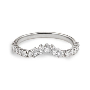 Tasha Nesting Diamond Wedding Band In 14K Gold