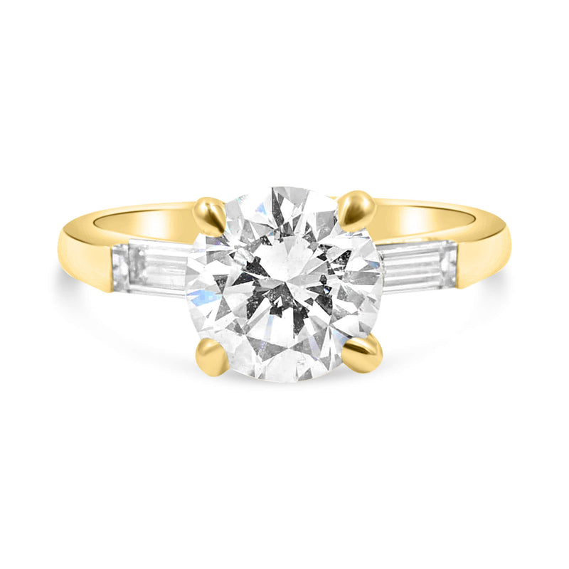 TAYLOR Round Engagement Ring