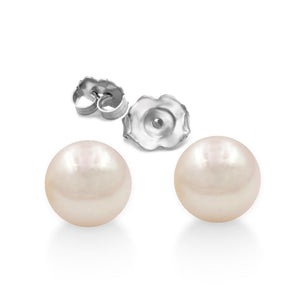 Fresh Water Pearl Earrings Earrings In 14K Gold