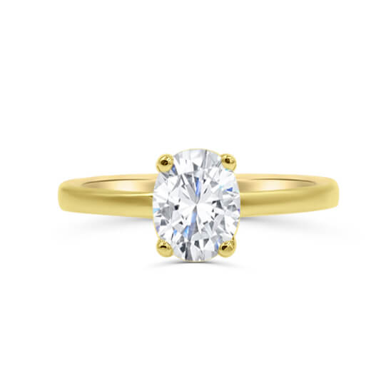 Zoe Oval Solitaire Engagement Ring