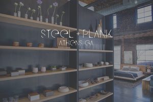 steel and plank, a home furnishings and gift boutique in athens, georgia