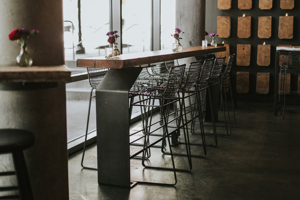 Custom furniture fabrication for Atlanta restaurants