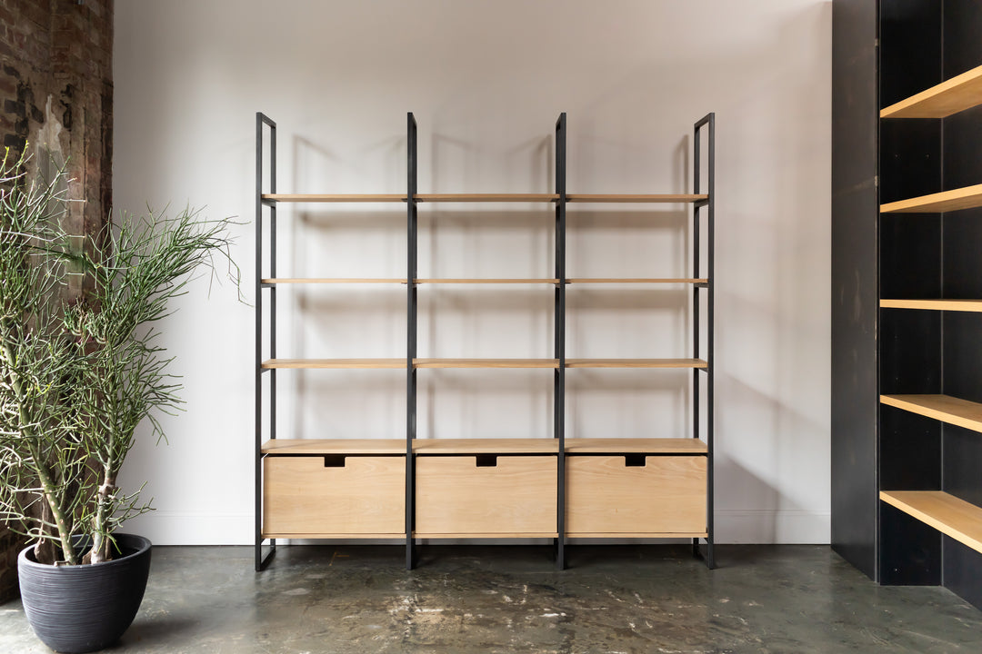 minimal shelving custom furniture makers athens ga