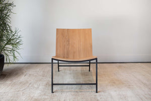 Steel+Plank Chair custom built furniture athens ga