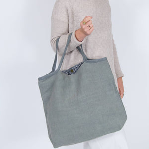 Washed Jute Shopper