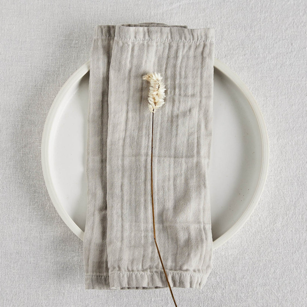 willaby napkins organic cotton gauze