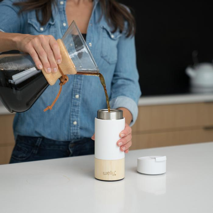 Welly Bottle Tumbler with Infuser