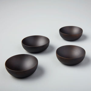 Be Home Ebony Teak Pinch Bowl