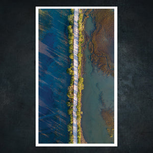 flood tide georgia coast benjamin galland photography