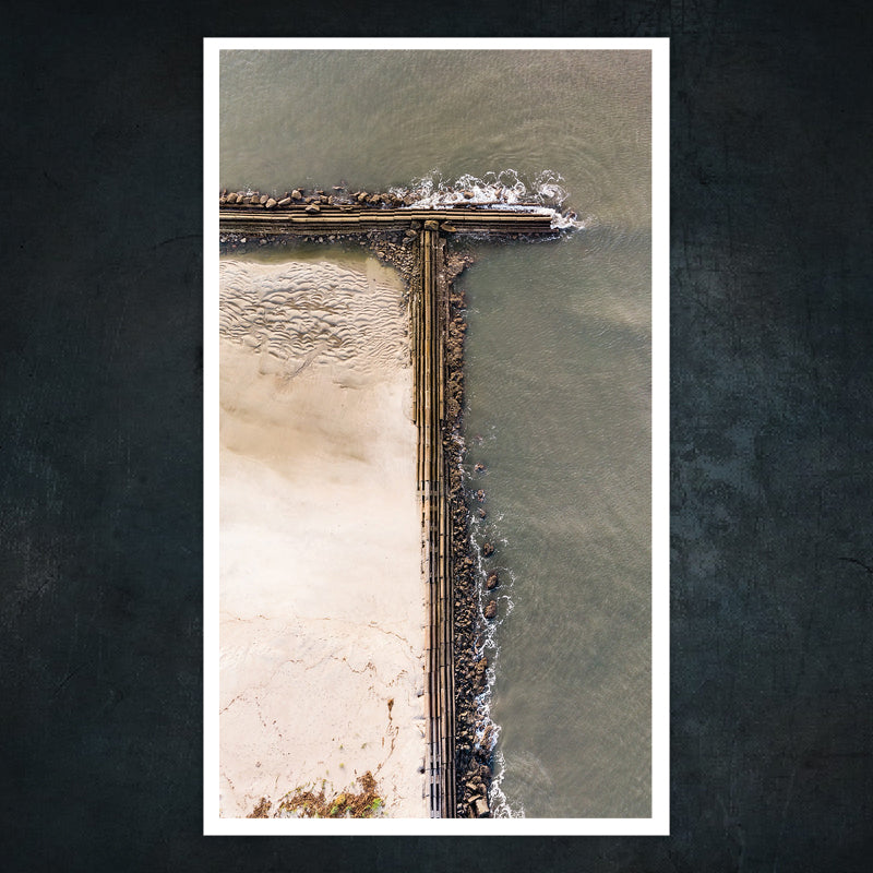 Sea Island jetty, part II