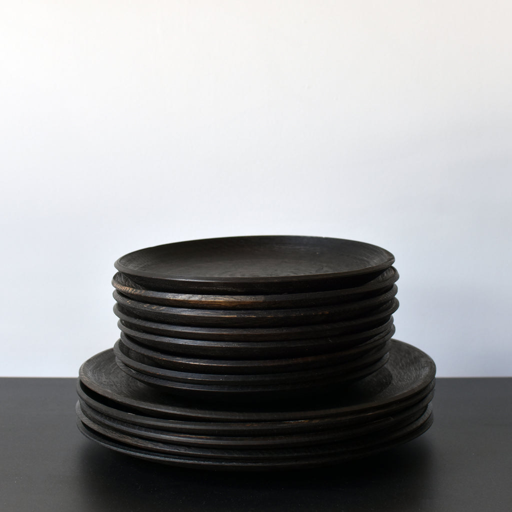 Ebonized Oak Plates