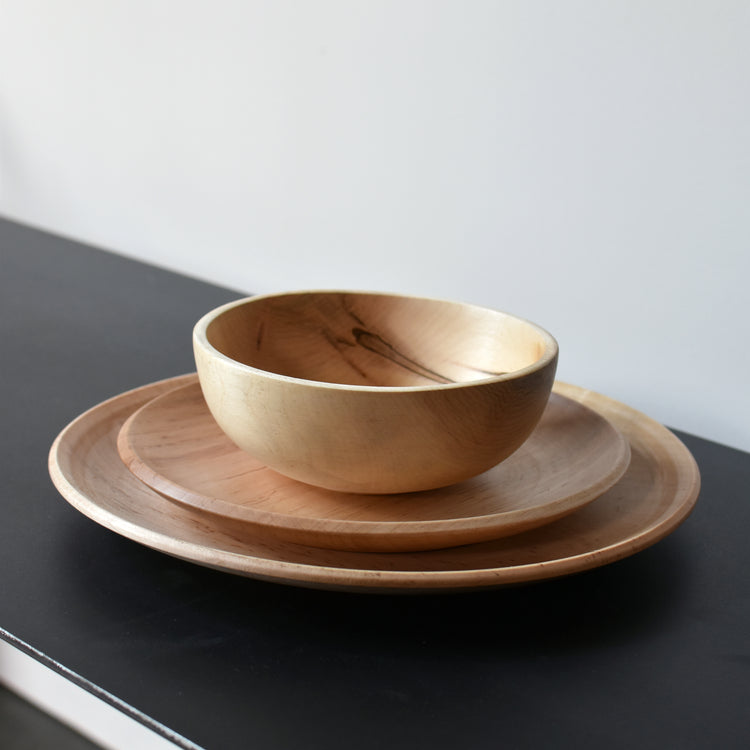 Handmade Wooden Dinnerware Sets by Southfork Timber
