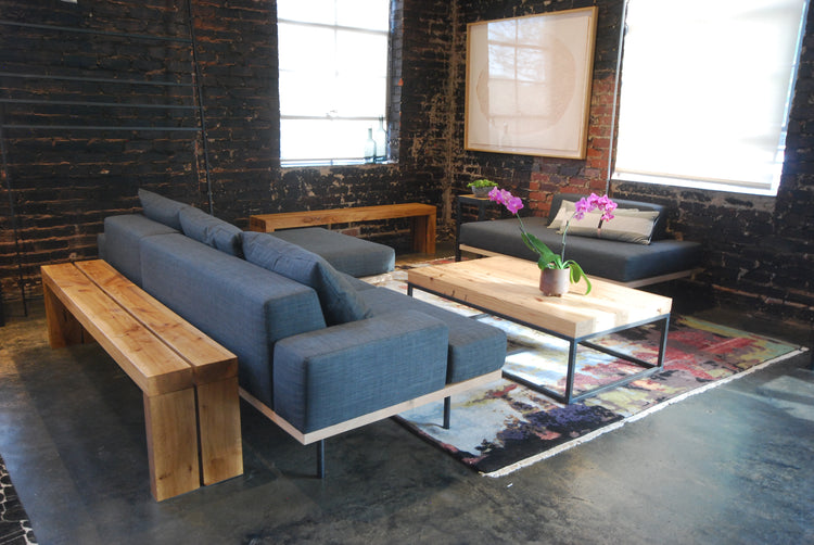 modular sectional steel+plank