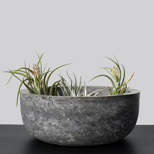 Large Stone Planter with Drainage Apotspot Margot