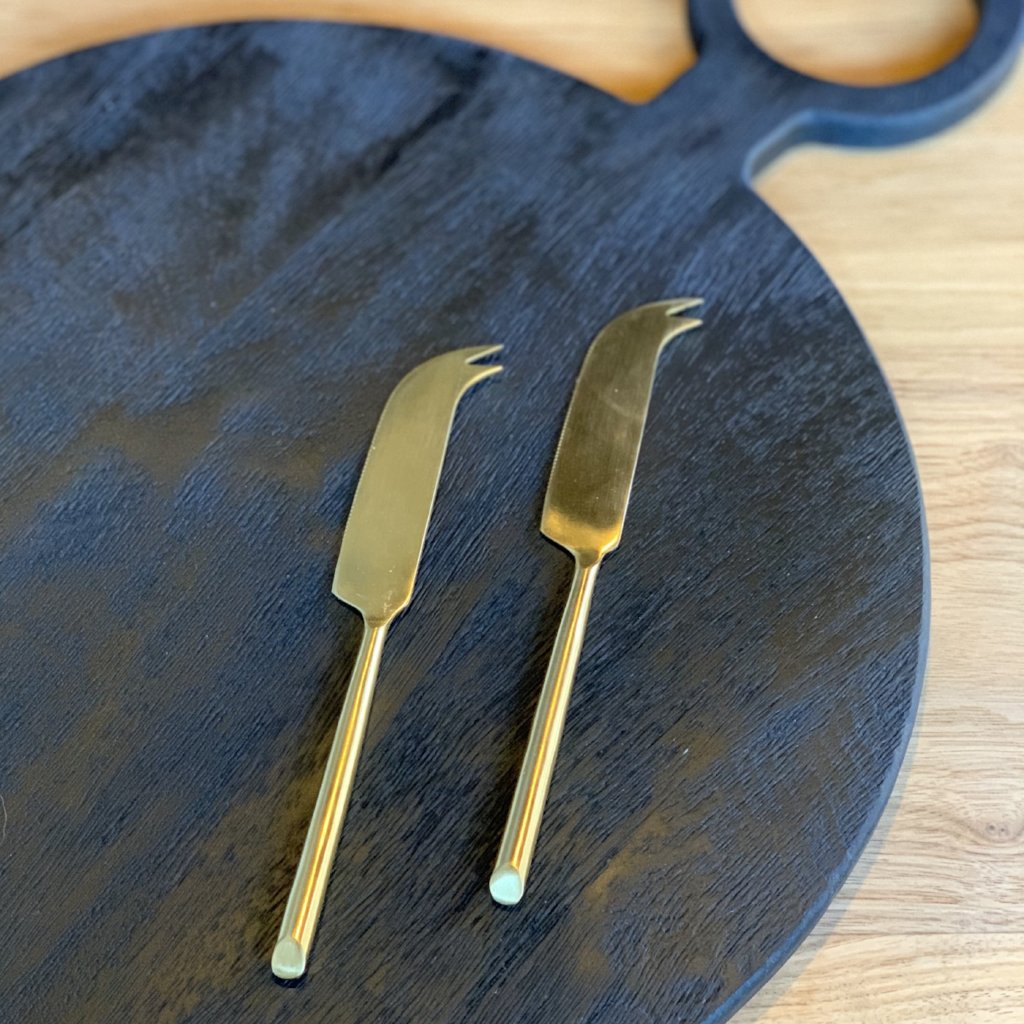 Gold Cheese Knives