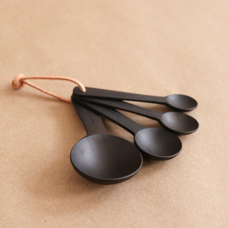 Be Home Handcrafted Teak Measuring Spoons