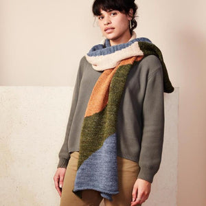 Dunes Scarf Earth