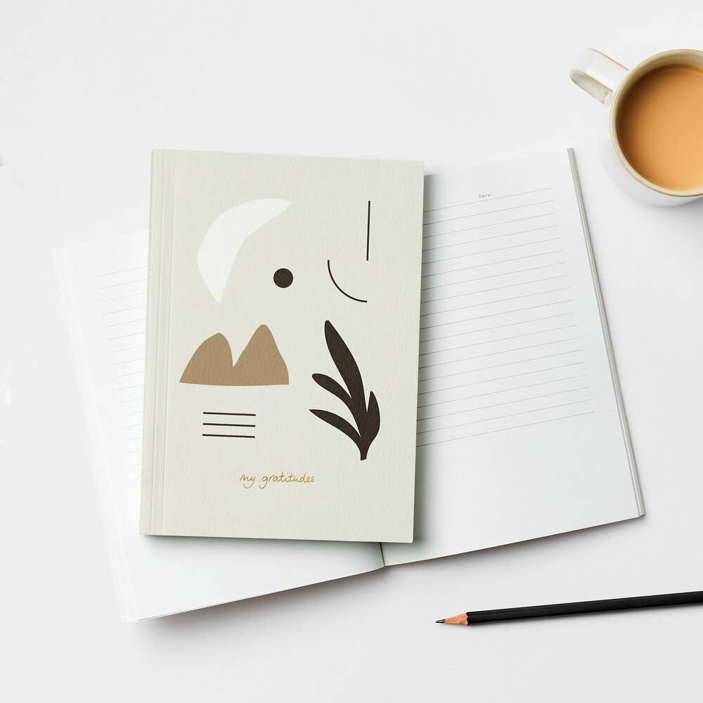 Kinshipped Stationery Softcover Gratitude Journal