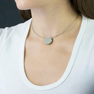 Konzuk Concrete Pendant Necklace