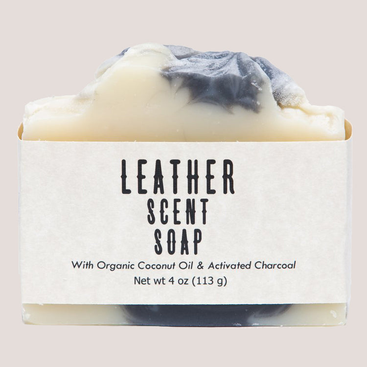 Leather Scent Soap