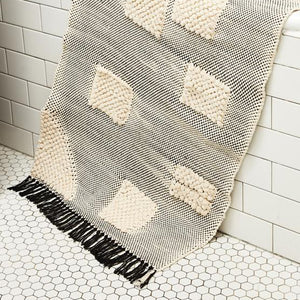 Minna Goods Handwoven Bathmat Shapes