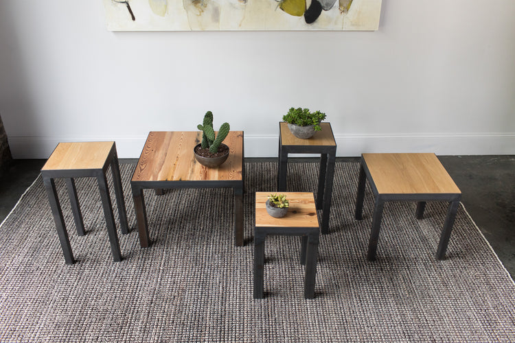 End Tables, Plant Stands, Stools