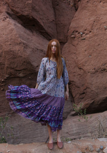 Purple Sage Bloom Dress