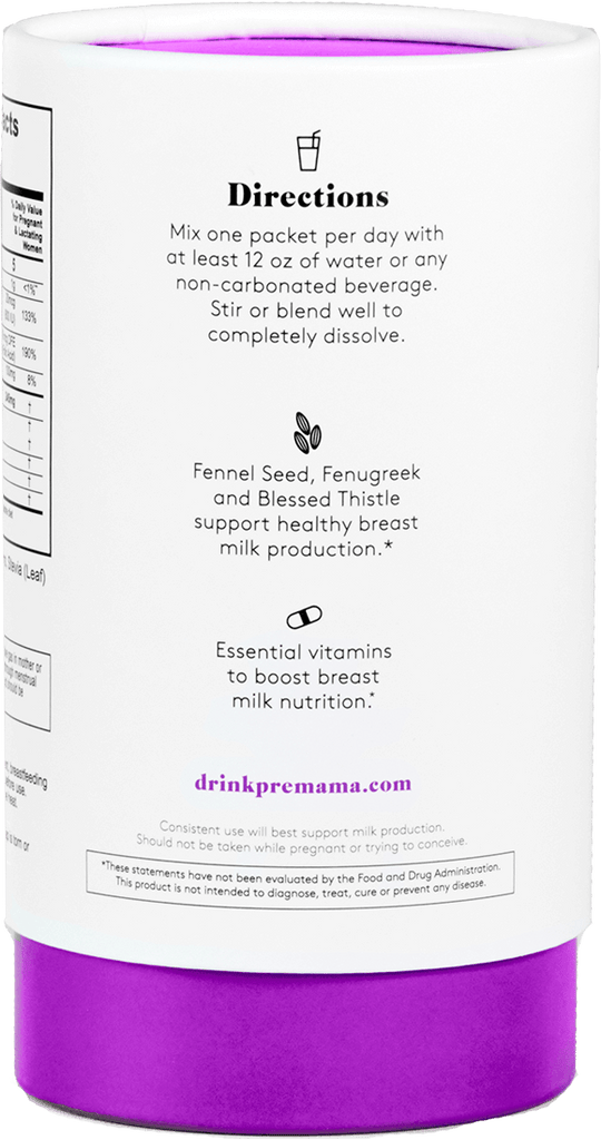 Lactation Support Drink Mix - Premama