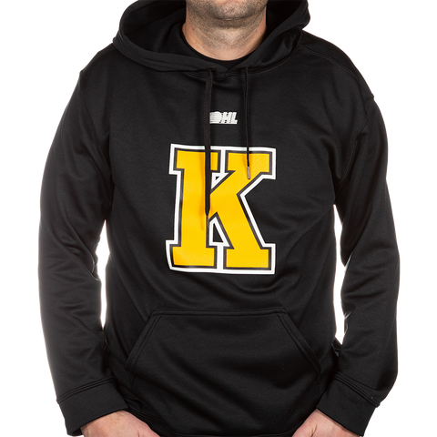 Black Sweater with Yellow K