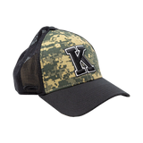 CAMO with Mesh Back