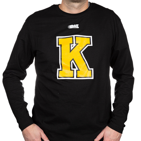 Black Long Sleeve with Yellow K