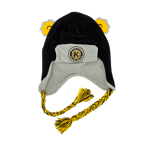 "Youth Bear Toque with ""Kingston Frontenacs"""