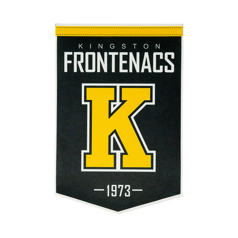 Kingston Frontenacs Felt Banner