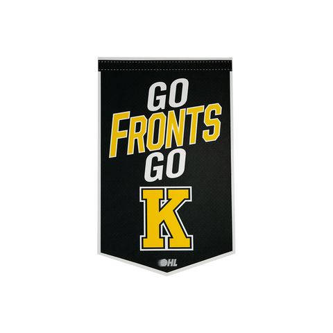 """Go Fronts Go"" Pennant"