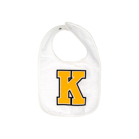 Bib with Yellow K