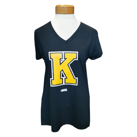 "Womens Fronts T-shirt ""K"""