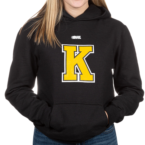 Black Kids Sweater with K