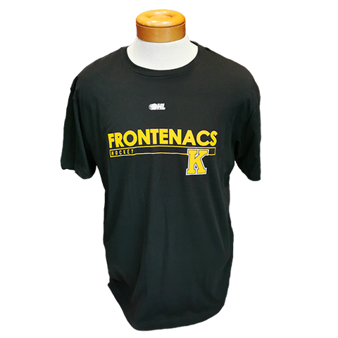 Black Frontenacs Hockey T-Shirt