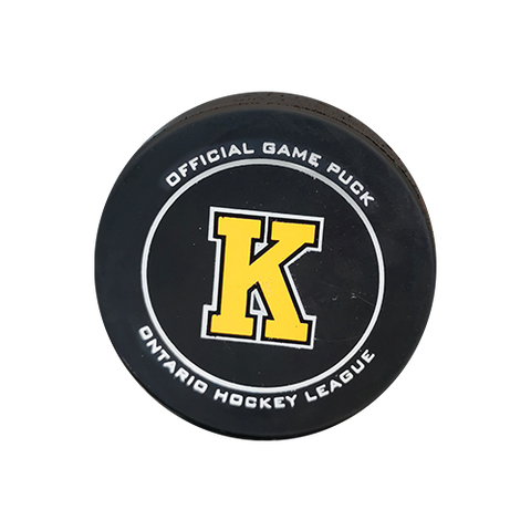 Kingston Frontenacs Official Game Puck
