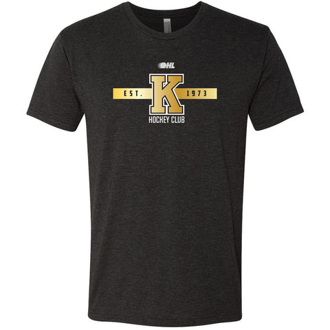 Kingston Frontenacs Black EST. 1973 T-Shirt